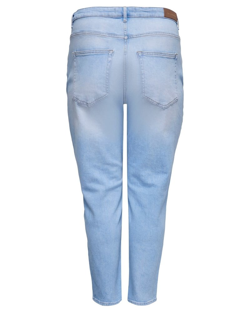 Only Carmakoma Mom jeans Eneda baby blue