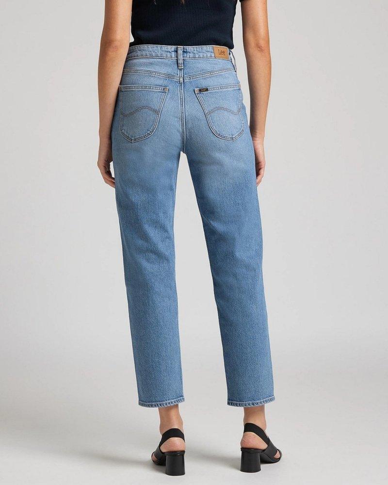 Lee jeans Straight cut jeans Carol mid soho
