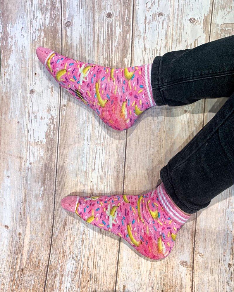 Sock My Feet sock my sprinkle banana