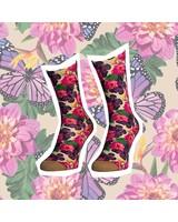 Sock My Feet sock my dahlia