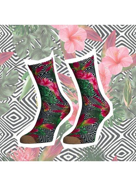 Sock My Feet sock my hibiscus