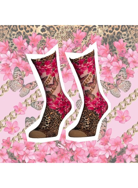 Sock My Feet sock my plumeria