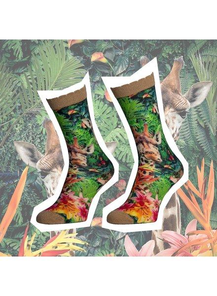 Sock My Feet sock my jungle giraf