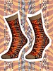 Sock My Feet sock my african patt