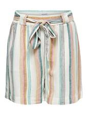 Only Carmakoma shorts Stacyi stripes