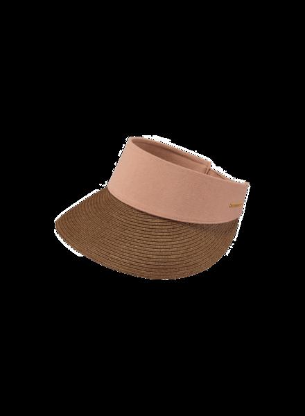 Barts Sun visor Vesder dusty pink