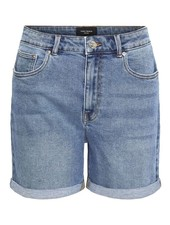 Vero Moda Curve Mom shorts denim