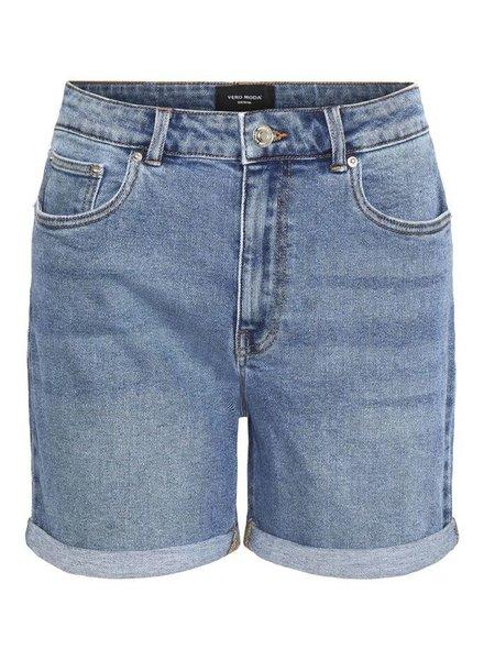Vero Moda Curve Mom shorts denim