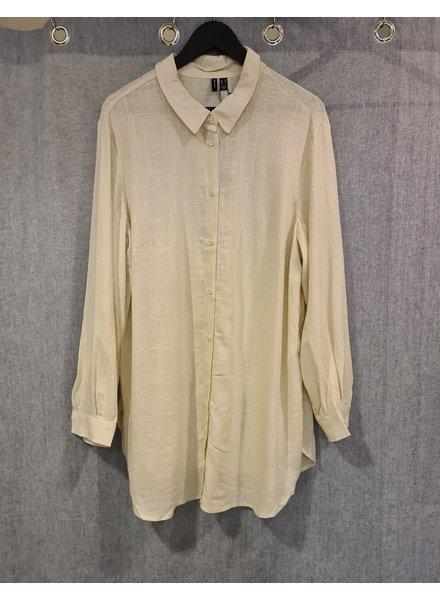 Vero Moda Curve oversized blouse Ellza