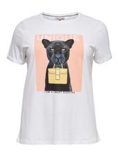Only Carmakoma shirt Darling Cat