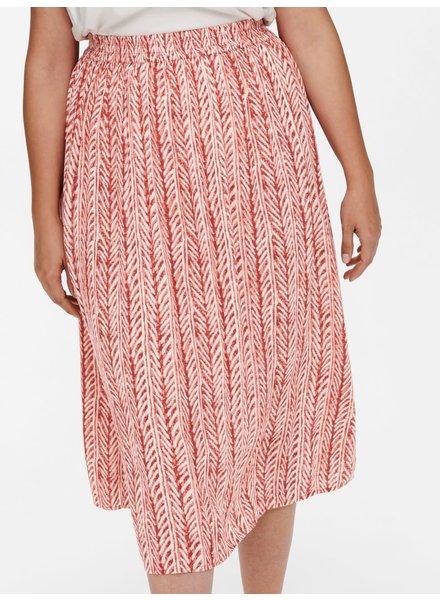 Only Carmakoma long skirt Trib