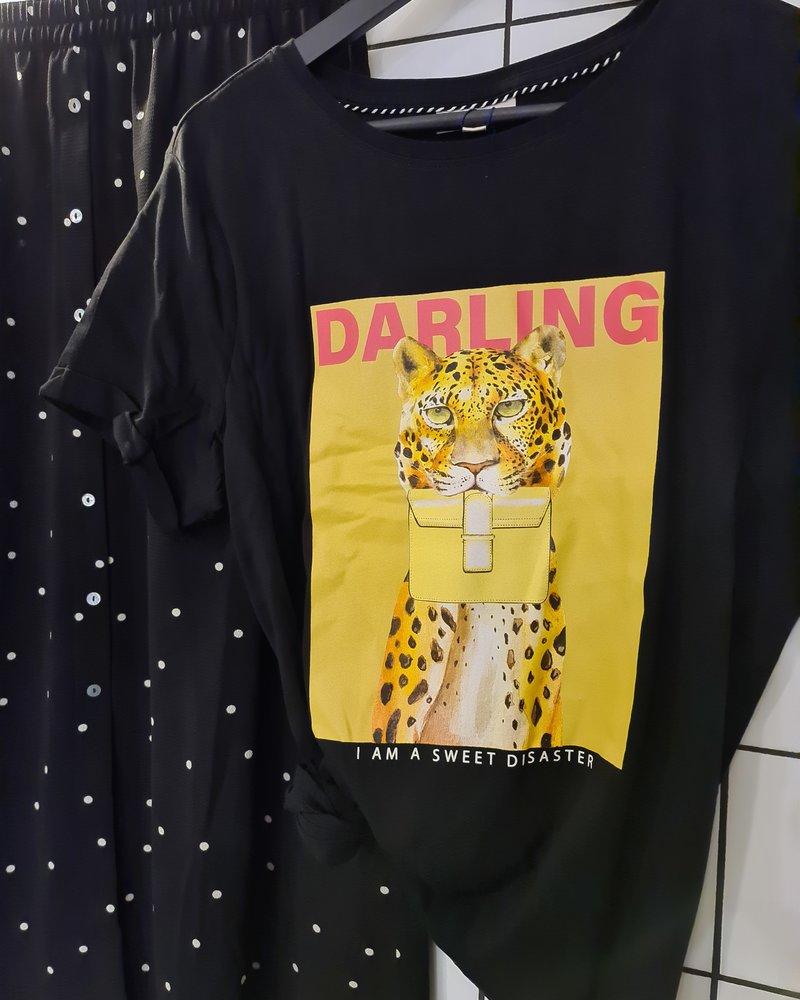 Only Carmakoma shirt Darling Cat black