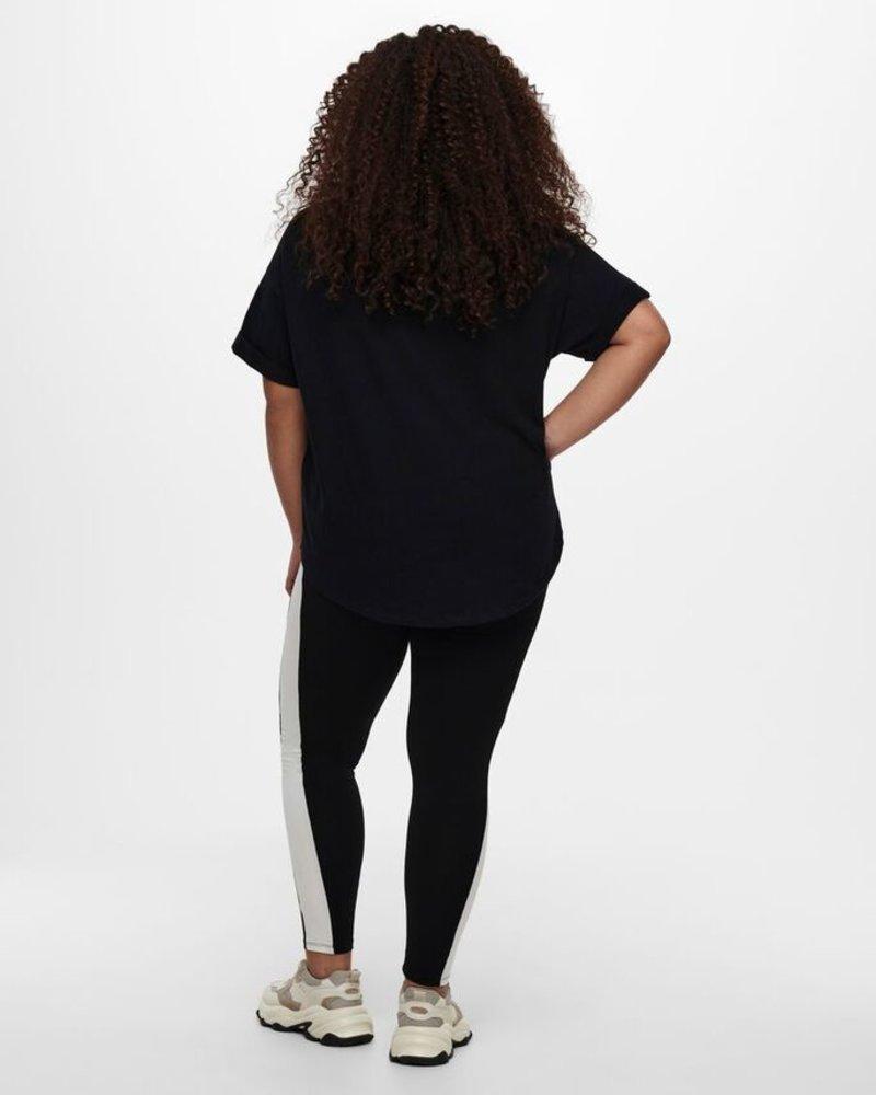 Only Carmakoma Tshirt Kaylee black