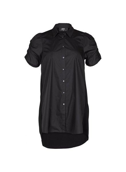 Zoey long blouse Sierra black