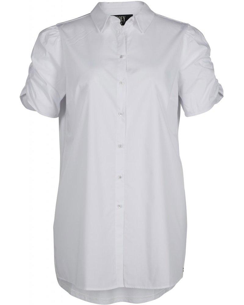 Zoey long blouse Sierra white