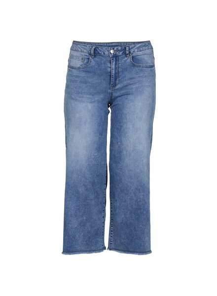 Zoey Cropped wide jeans Fia denim blue