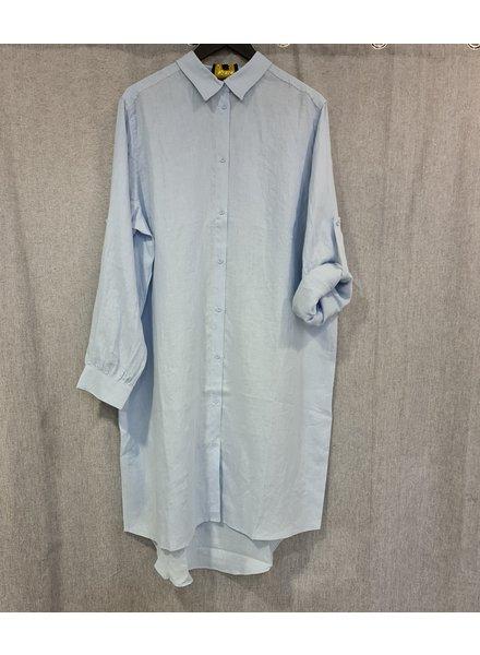 No.1 by Ox blouse linnen blue