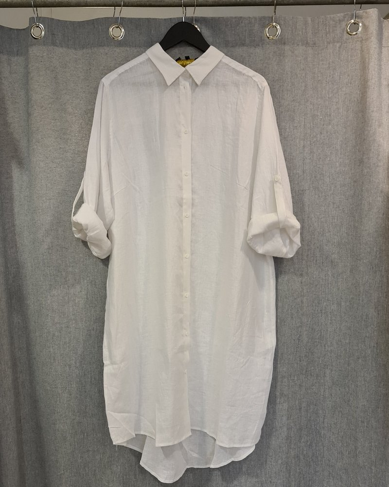 No.1 by Ox Linnen blouse wit