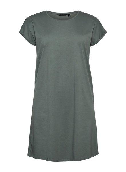 Vero Moda Curve shirtdress Lise saliegreen