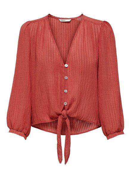 emma knot shirt 7/8