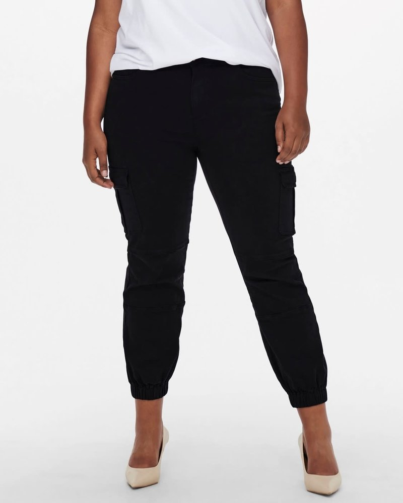 Only Carmakoma Cargo ankle pants Miss black