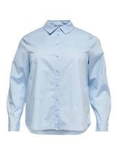 basic overhemdblouse Catinka (3 kleuren)