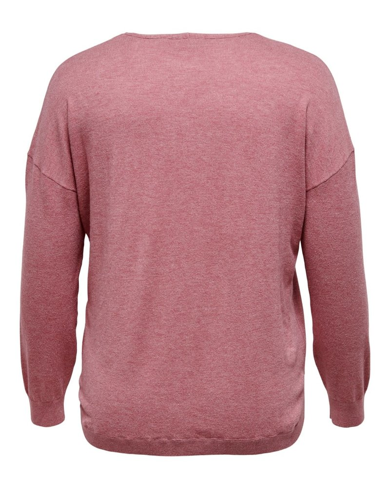 Only Carmakoma pullover Cosi mauvewood