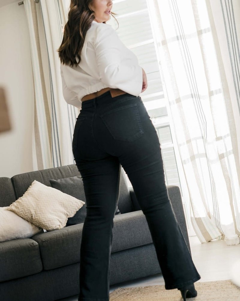 Fox Factor BOBI flared jeans raven black