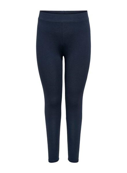basic legging blauw