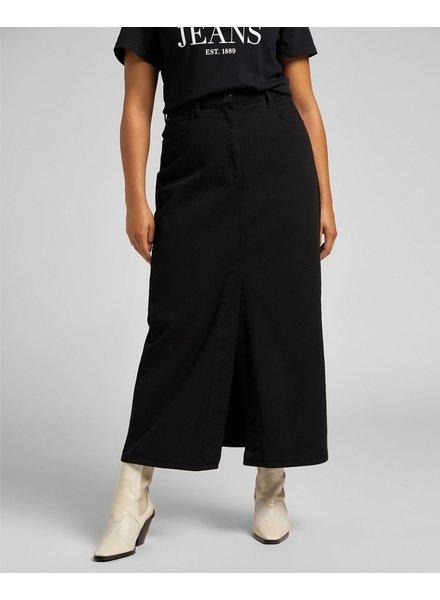 Lee jeans long skirt denim black Lee