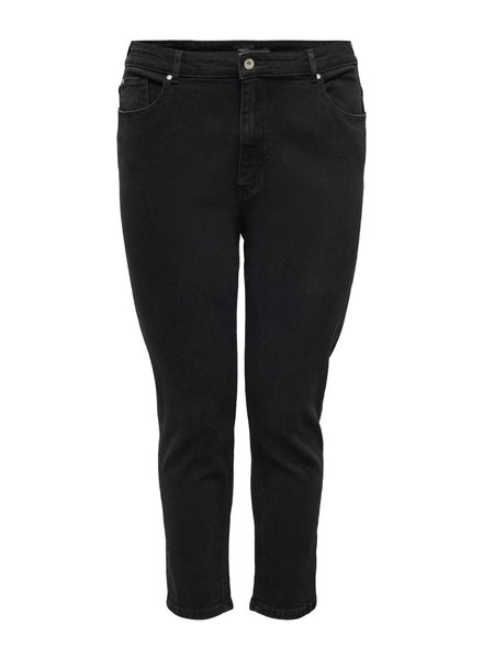 mom jeans eneda black