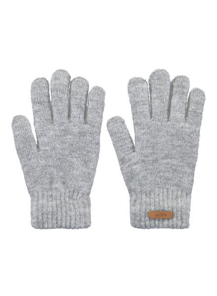 Barts gloves heather grey Barts