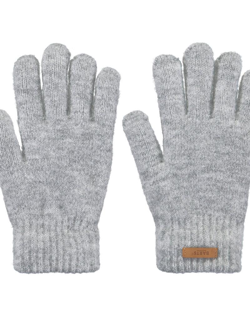 gloves heather grey Barts