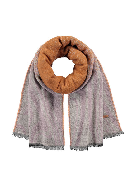Barts scarf Donnae orchid