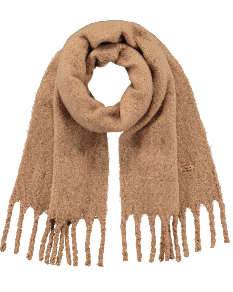 Barts scarf Fiyone light brown