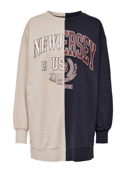 Only Carmakoma two tone sweat dream