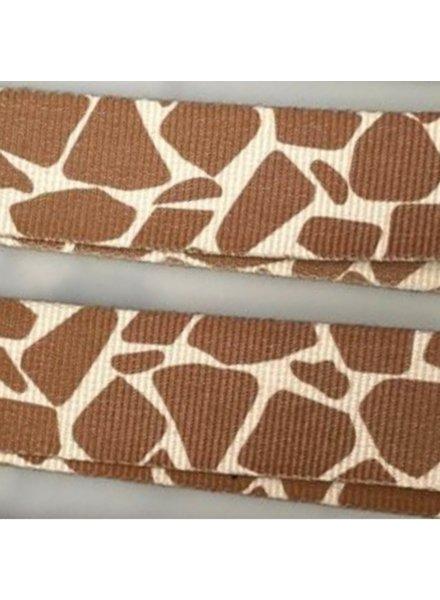 Strap giraffe (zilver)