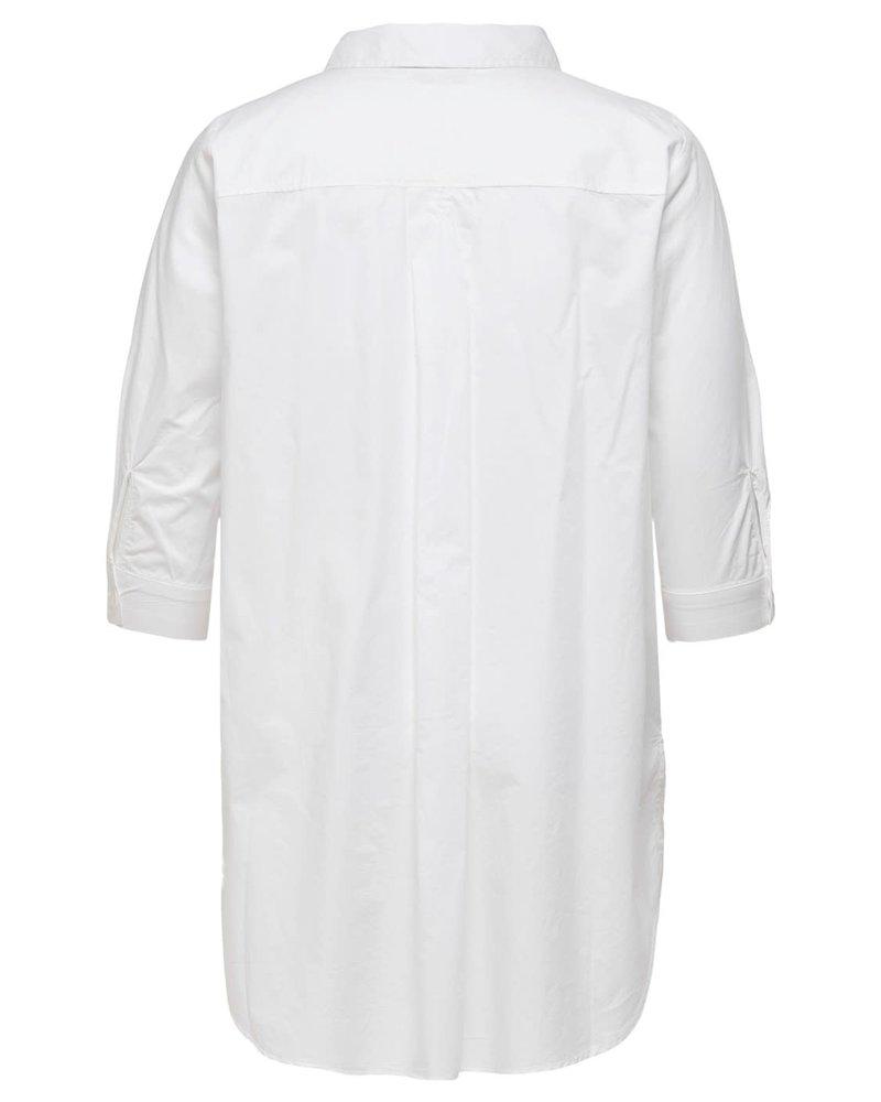 lange blouse Lane white