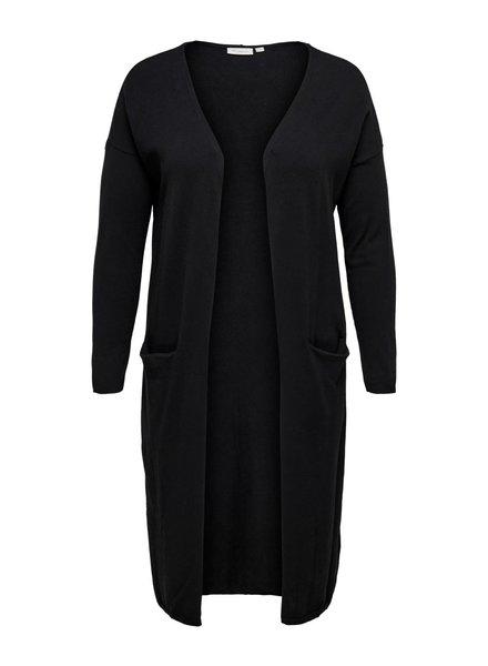 Only Carmakoma long cardigan esly black
