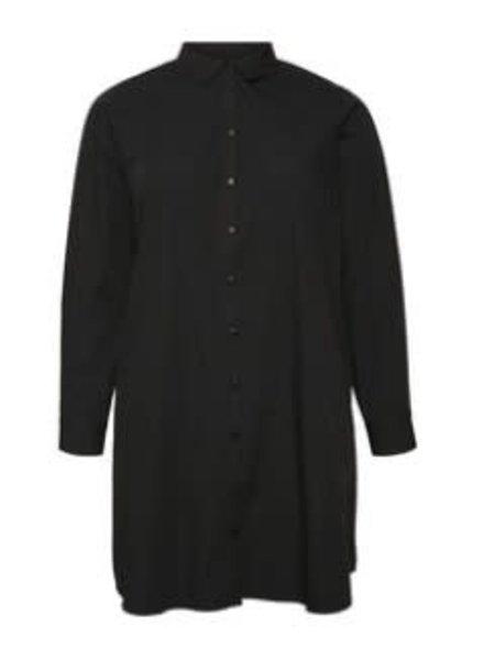 Vero Moda Curve Lange blouse Ewa black