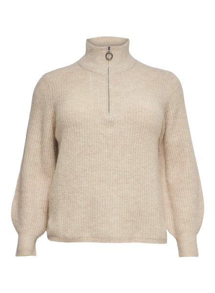 Only Carmakoma Zip pullover Karin
