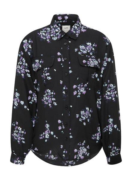 Lee jeans box pleat blouse Lee