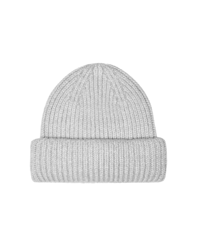 Only Carmakoma beanie Sussy light grey melee