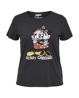 Only Carmakoma tshirt Minnie&Mickey Christmas