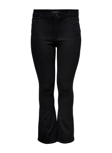Only Carmakoma Flared jeans Augusta black