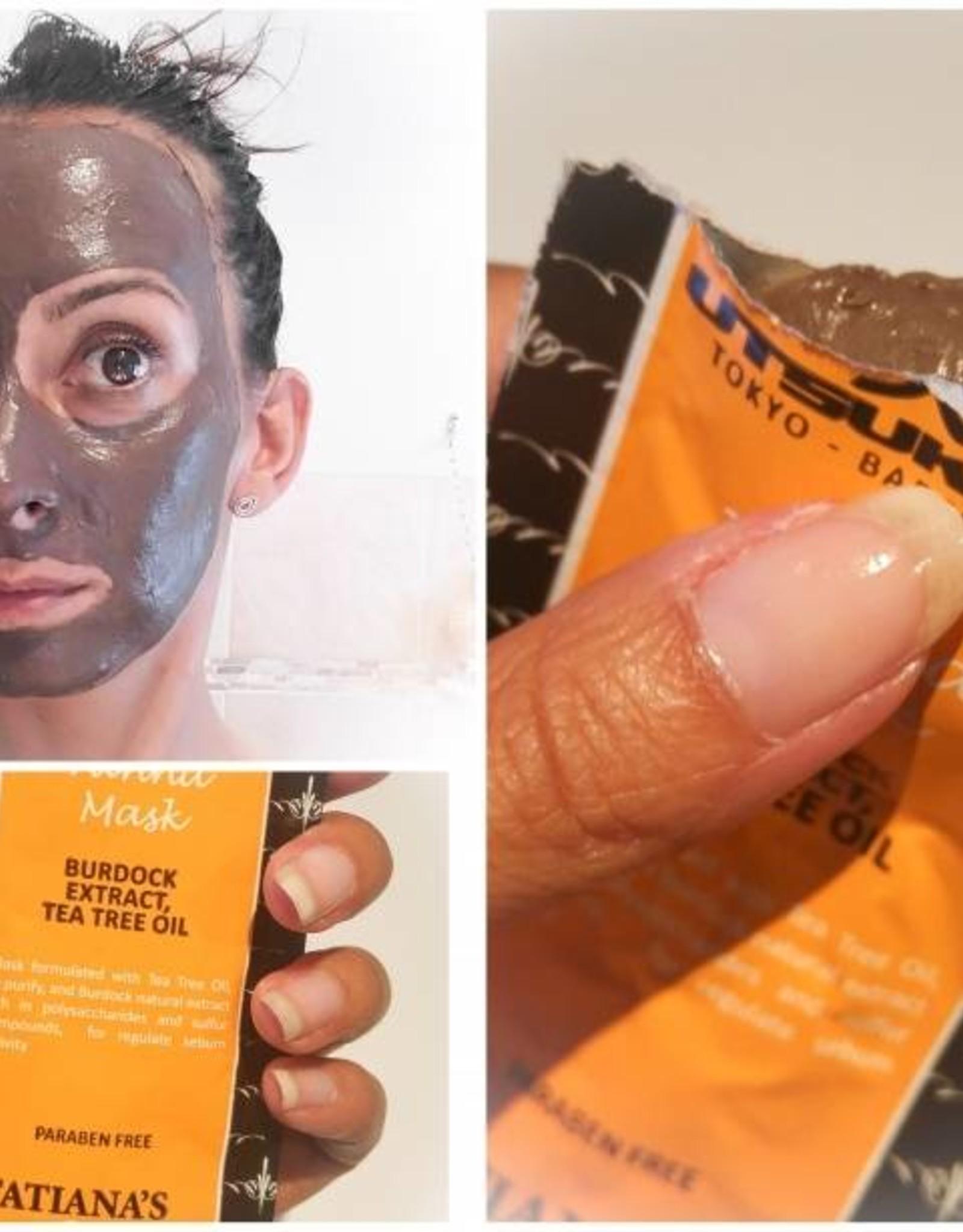 Utsukusy Burdock tea tree facial mask