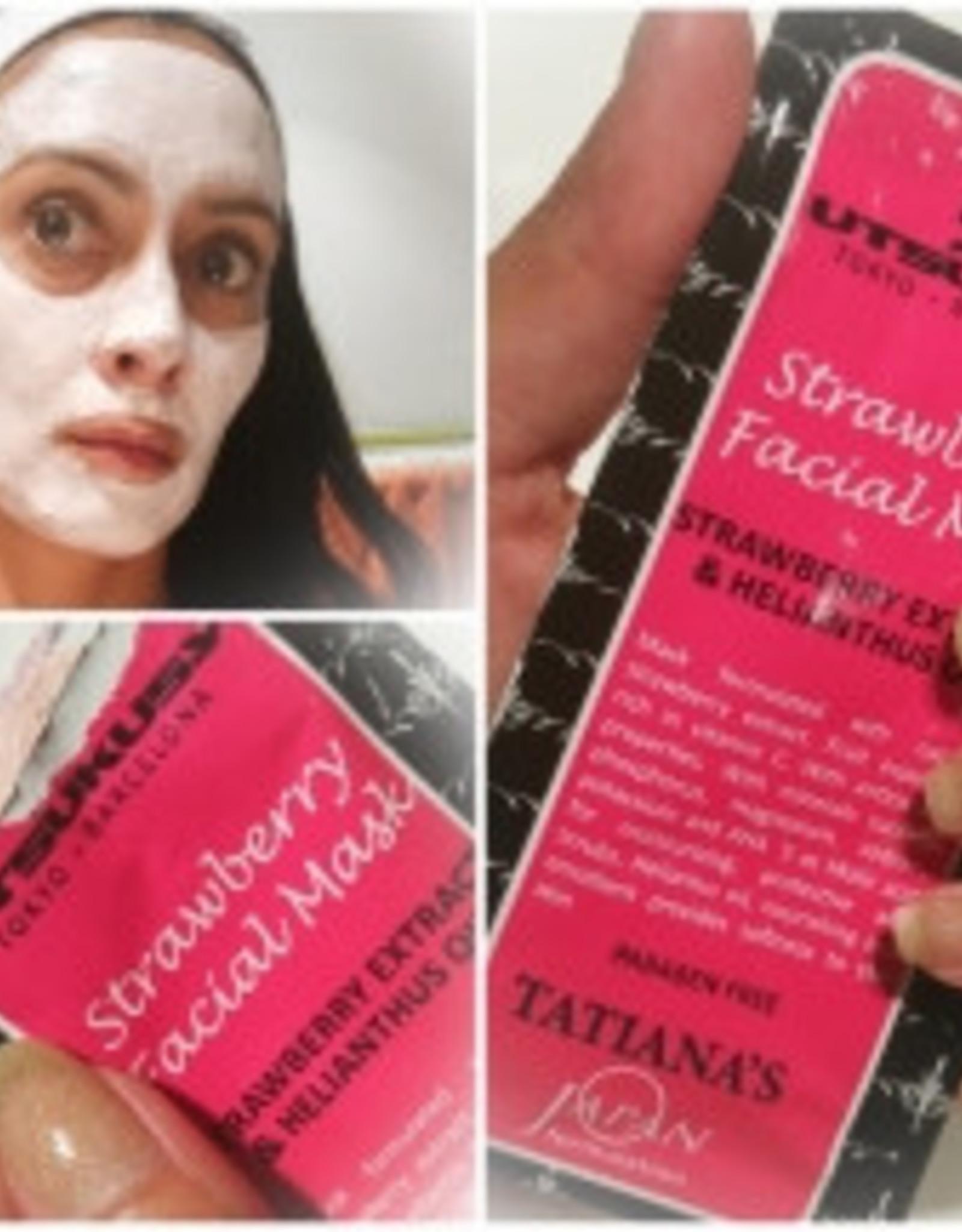 Utsukusy Aardbeien masker en scrub