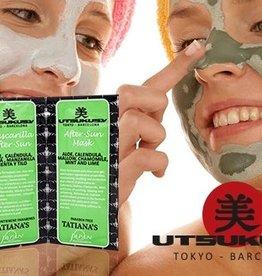 Utsukusy Aftersun masker met aloë vera gel en fruitextracten