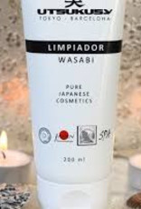 Utsukusy Wasabi facial cleansing cream, tube 200ml
