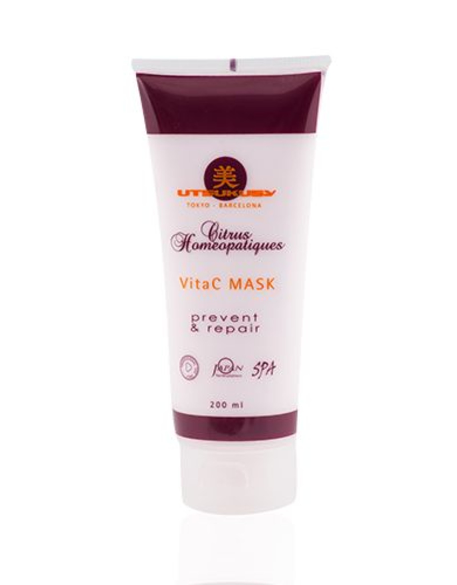 Utsukusy Citus Homeopatique Vitamin C facial mask 200ml